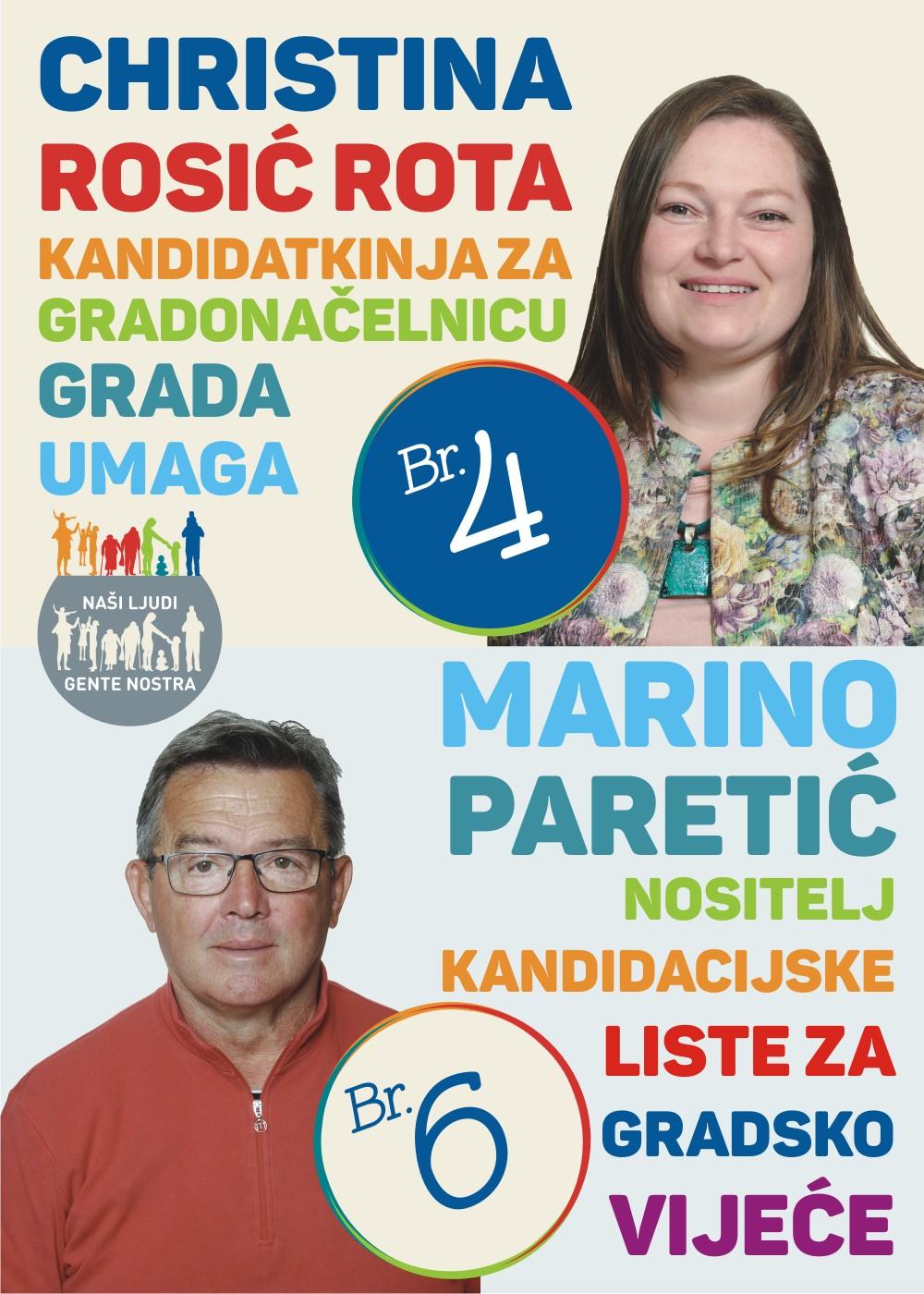 Christina R.R. + Marino Paretić Plakat B2